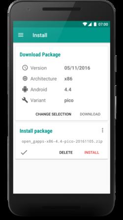 OpenGApps App Release